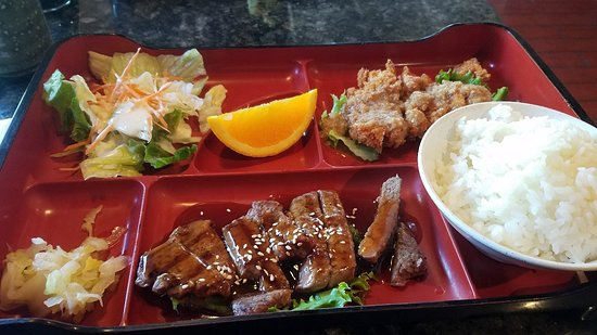 Hinata Japanese Steak House: Bento lunch