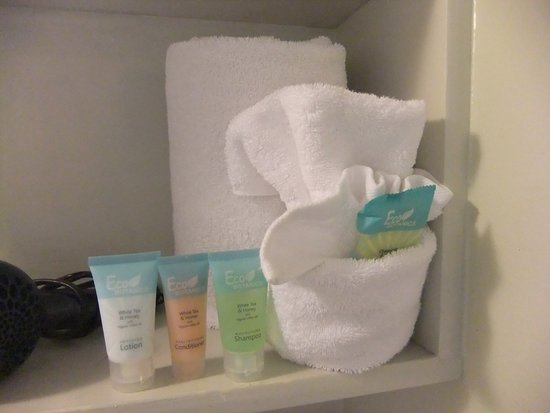 Bayfront Inn: Very nice shampoo, conditioner, lotion and soap