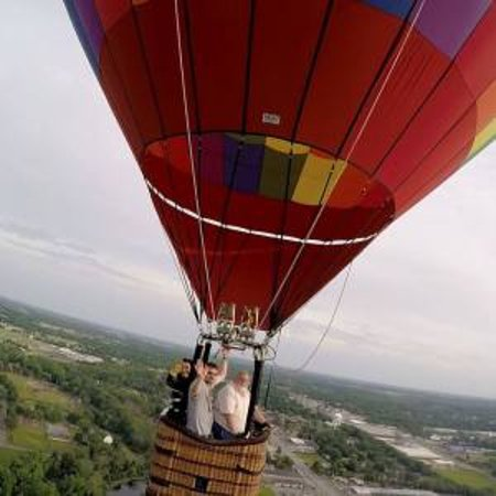 Plymouth, IN: Fun Balloon Ride with video package