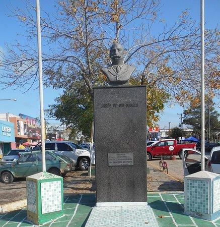 Chui, RS: Monumento ao barão do Rio Branco
