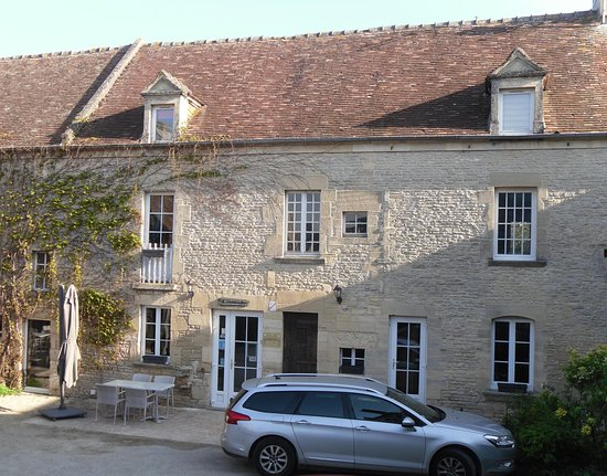 Auberge de la Mue: Restaurant inside