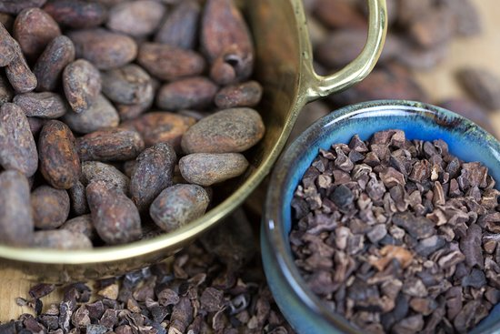 Dexter, MI: We use the best quality heirloom cocoa beans.