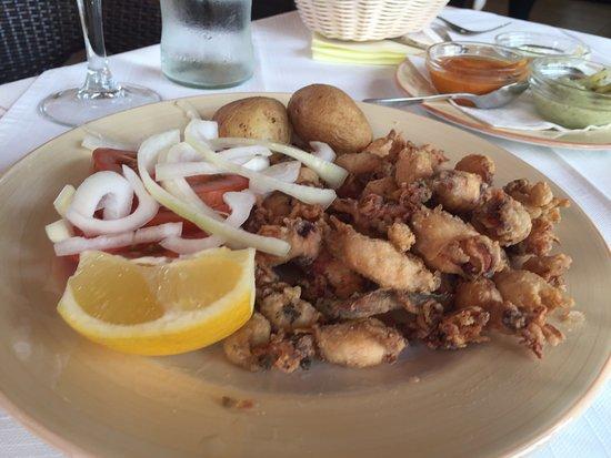 Restaurante la Puntilla Casa Menso: Puntillitas de Calamar