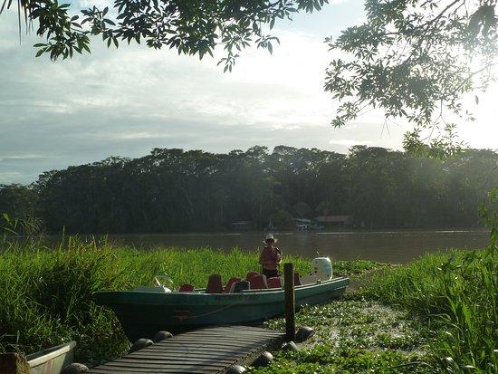 Barra de Pacuare, كوستاريكا: l'embarcadère du lodge