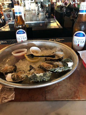 Half Shell Raw Bar: Ask for Laura! She is the best!