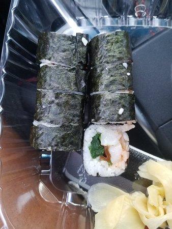 Greenacres, Flórida: Hand roll spicy tuna
