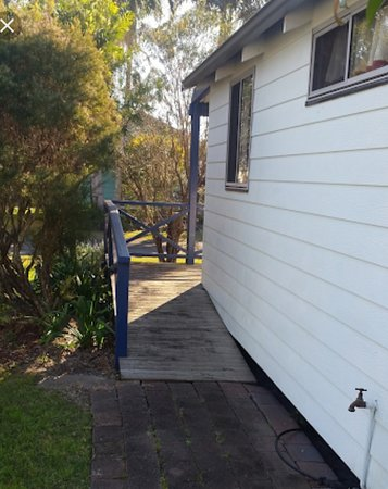 Seeking wheelchair friendly park and accommodation