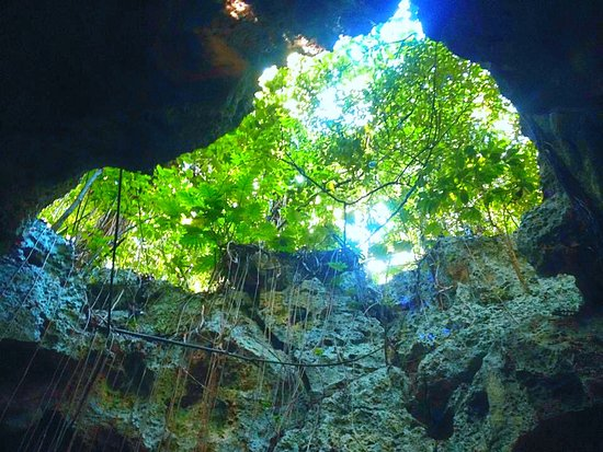 Dunn's River Falls and Park: Inside the caves