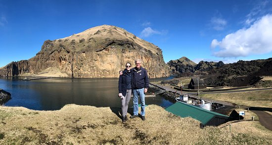 Puffin and Volcano Tour in Vestmannaeyjar: near the harbor