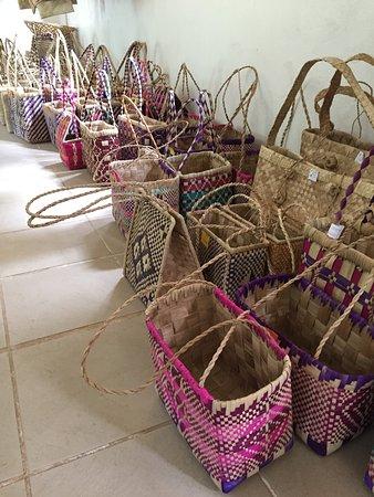 Lakatoro, Vanuatu: Lots of baskets