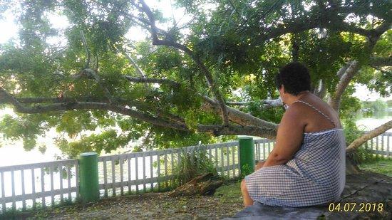 Conceicao do Almeida, BA: Contemplando o lago - Bom descanso
