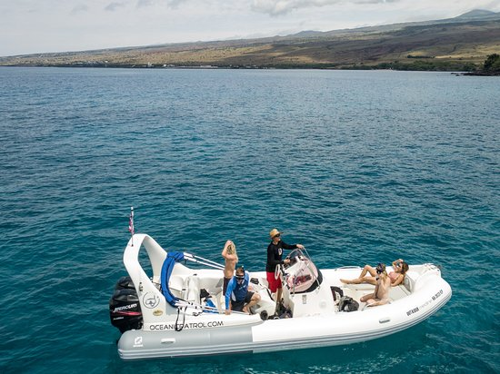 Kohala Coast, Havai: A perfect and private day on the ocean!