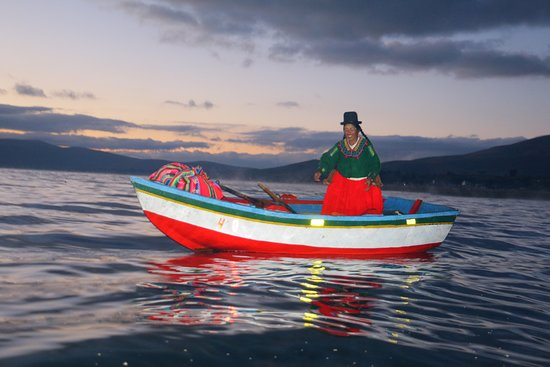 Pesca artesanal en Juli.