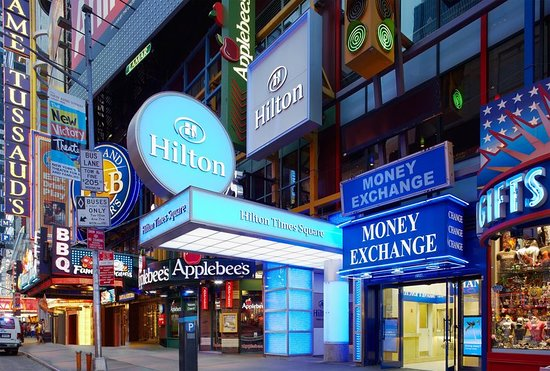 Nice Hotel Right In The Heart Of Times Square Review Hilton New York City Ny Tripadvisor