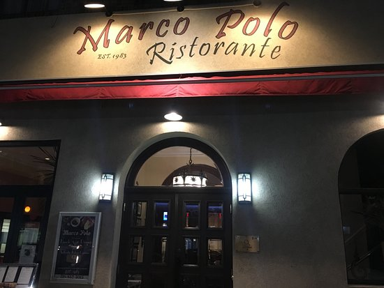 Marco Polo Ristorante : The exterior
