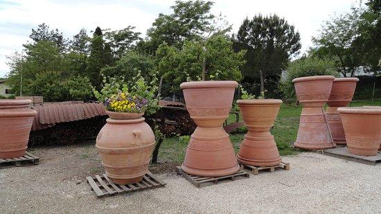 Impruneta, Italia: Museum quality pots