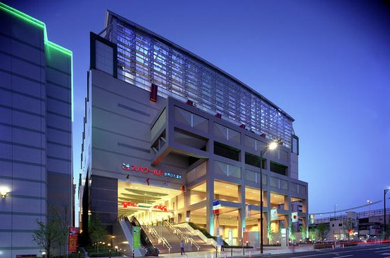 General Admission to Spa World in Osaka