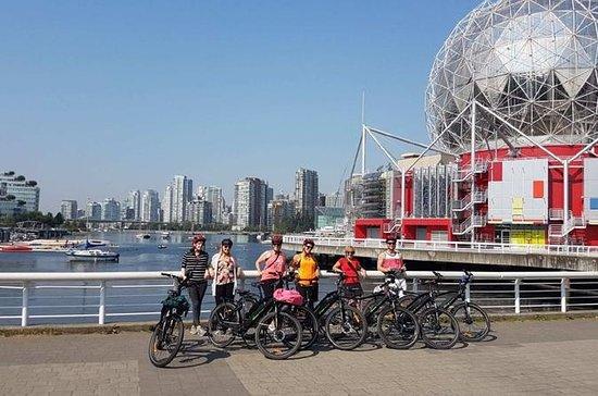 Visite guidée de la ville en vélo...