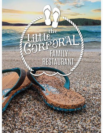 The Little Corporal Restaurant Menu