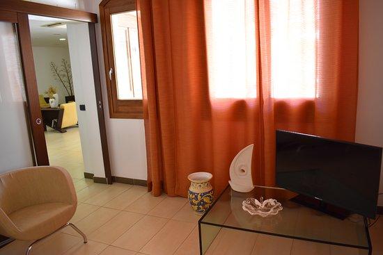 Sala Tv Picture Of Hotel Il Portico Isola Di Favignana
