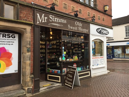 Mr Simms Olde Sweet Shoppe Lichfield