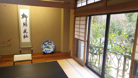 Gosen, Japonia: Salle pour le diner