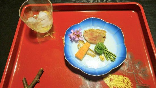 Gosen, Japonia: Un des plats de la course