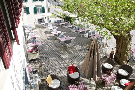 Uetikon am See, Switzerland: Terrasse