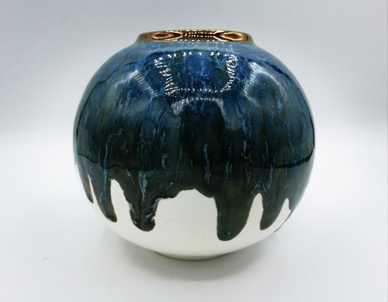 Saundersfoot, UK : Sea Globe - Blackbird Ceramics, Studio Pottery by Richard Prentice