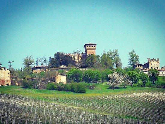 Castello di Gabiano: Il castello dall'esterno