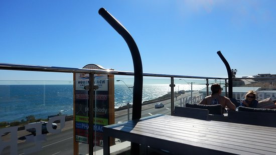 North Beach, Australia: on the deck 2