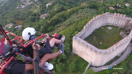 Semonzo, Italy: volare sopra asolo e dintorni