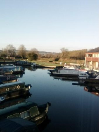 Tewitfield Marina: View from the bedroom