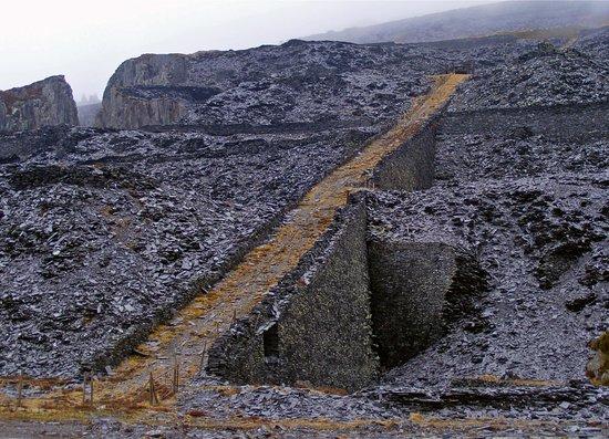 Dinorwic Slate Quarry - quarry track - Picture of Dinorwic Slate ...