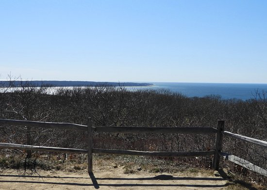 Chilmark, MA: The overlook from the second-highest point on the island.