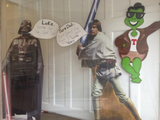 Eaton Rapids, MI: Dart Vader and Turtle Tom!