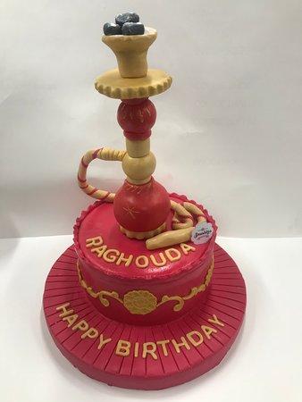 SmushKies 3D Birthday Cake
