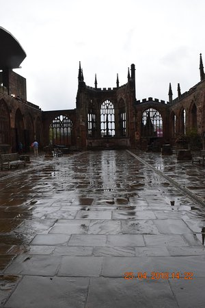 Coventry, UK: The old cathedral