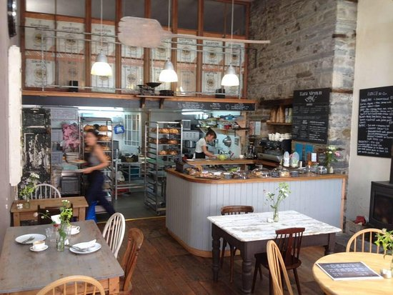 Bara Menyn Bakehouse & Cafe: open kitchen and bakery fuses old and modern