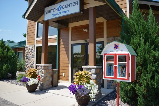 Shawano Country Chamber of Commerce & Visitor Center: We have a Little Free Lending Library available to the public