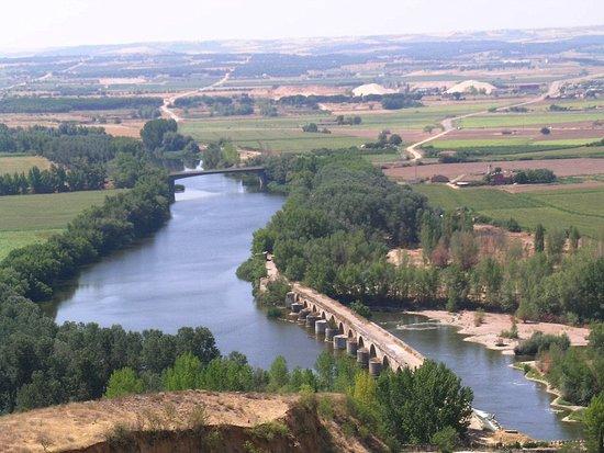 Morales de Toro, Spanje: El Duero a su paso por Toro