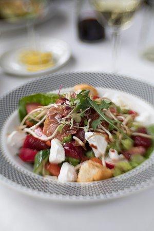 The Bull Run Restaurant: salad