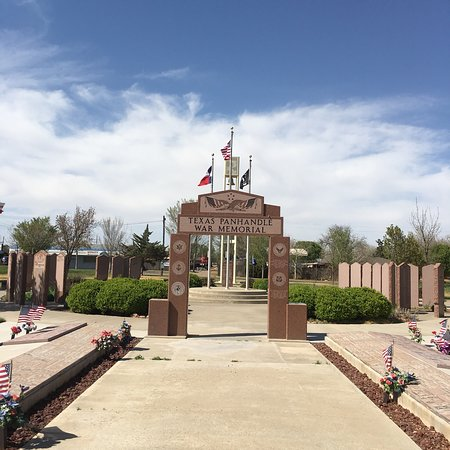 ‪Texas Panhandle War Memorial‬