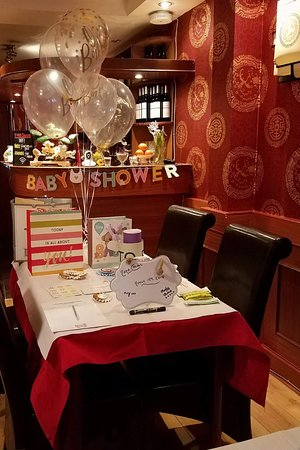 Four Seasons Chinese Restaurant: Baby shower in the Restaurant