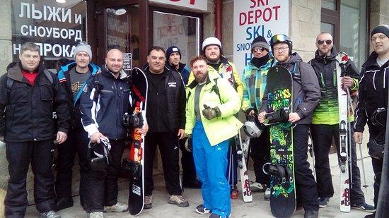 Borovets, Bulgarien: Happy customers