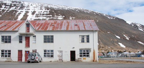 Patreksfjordur, Island: outside the building