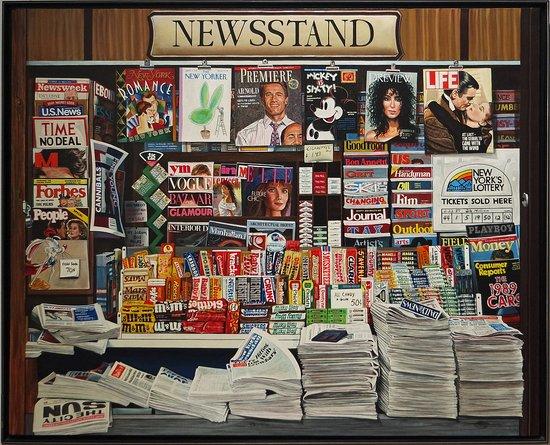 Kunsthalle Emden: Ken Keely, Newsstand