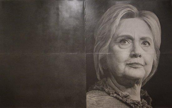 Kunsthalle Emden: Karl Haendl, Hillary Clinton