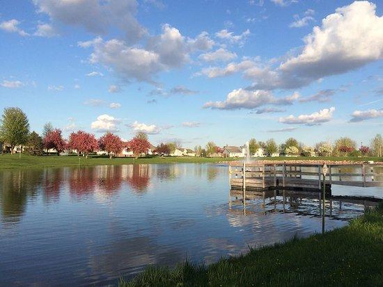 Luverne, Μινεσότα: Veteran's Pond Dock