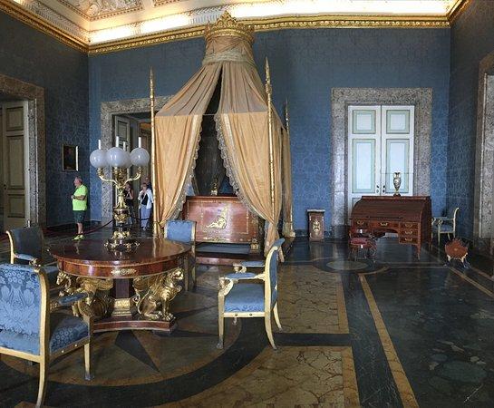 Koninklijke slaapkamer - Picture of Reggia di Caserta, Caserta ...